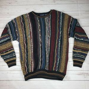 Men's Vintage 90s Coogi Style Sweater Size L